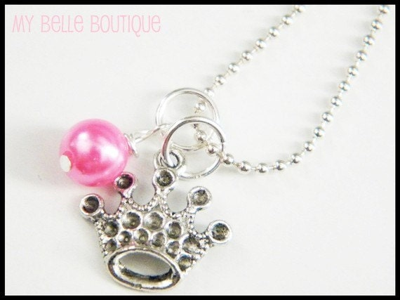 LITTLE GIRL Princess Necklace
