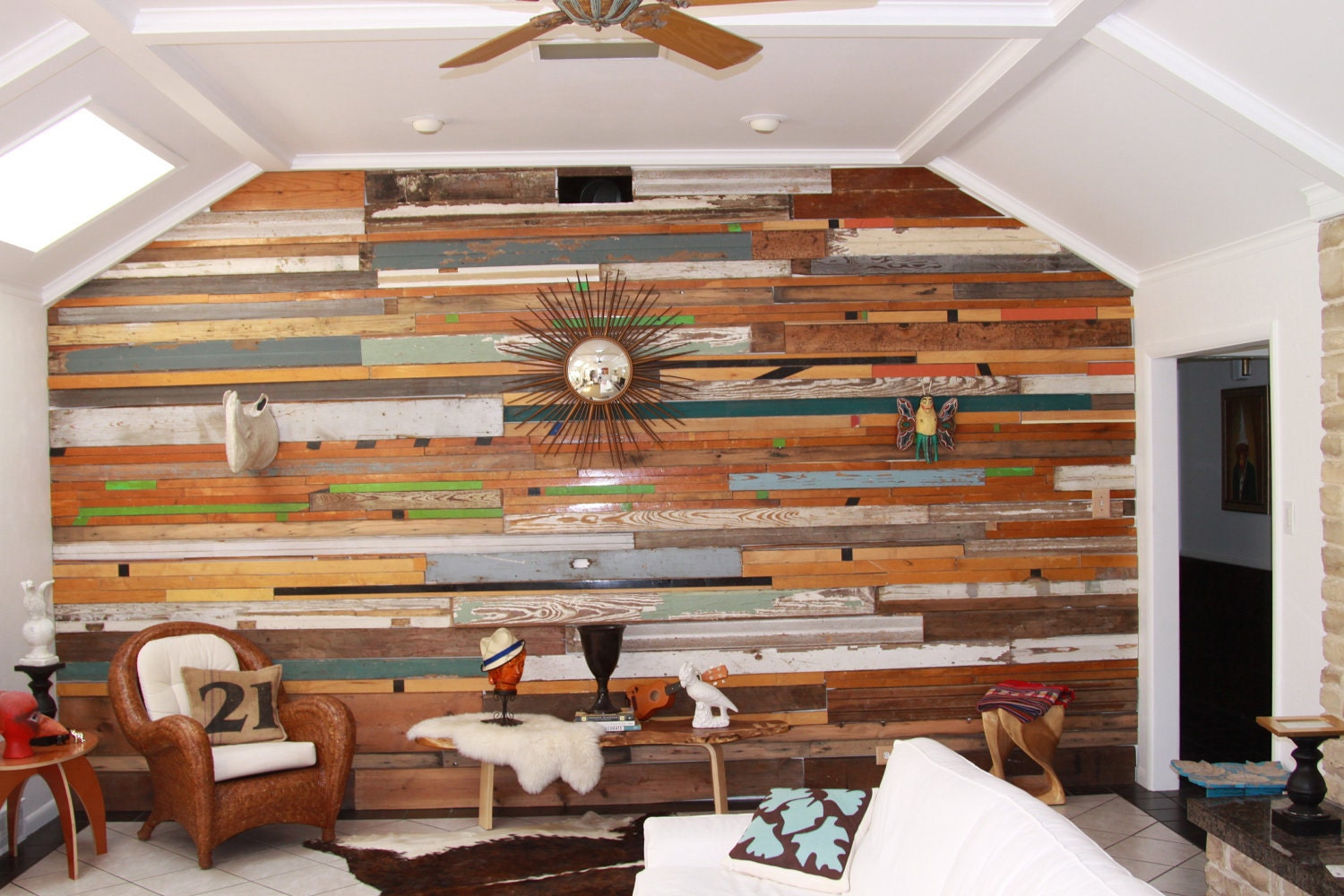 Wood Paneling With A History Reclaimed Wood For Interiors