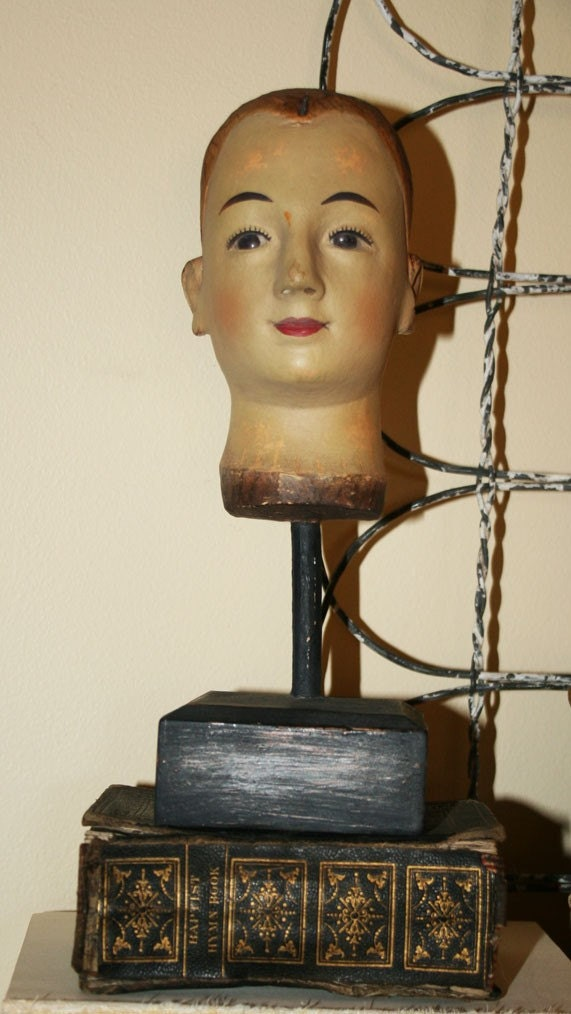 Vintage Inspired Medium Santos Head