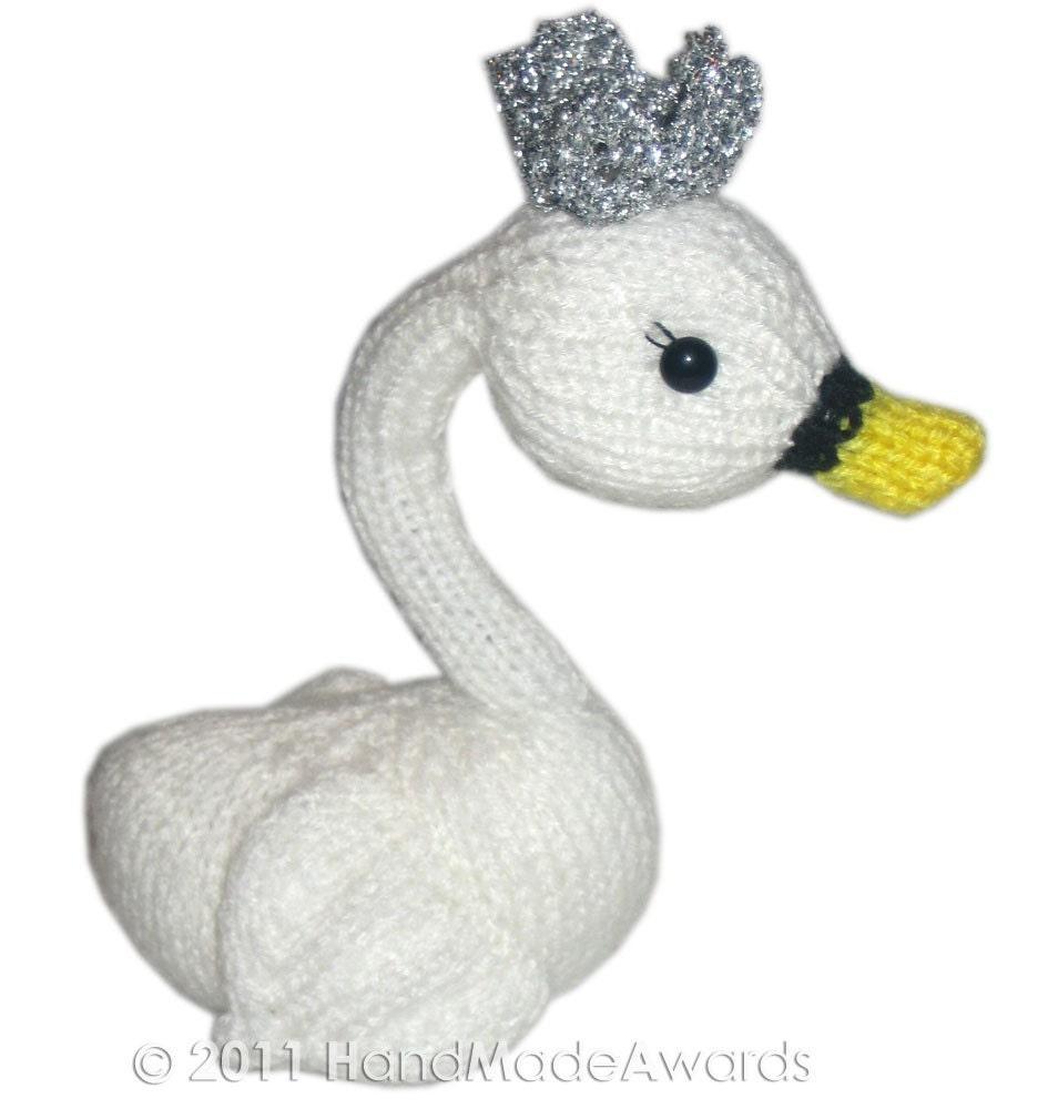 Princess Swan PDF Email Knit Pattern