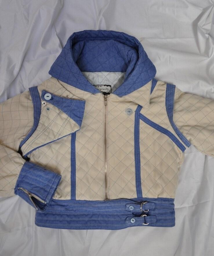 Blue Solaris Hoodie Size AU 10 / US 6 / UK 10 - 12