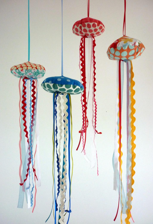 Лаванда медузы мобильных