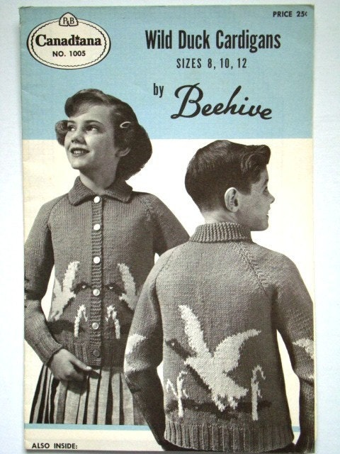 Knitting Vintage Patterns - buggsbooks.com