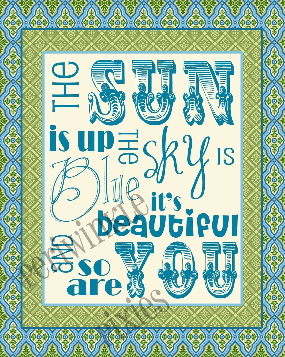 Dear Prudence The Beatles Typography By Rekrahcreative