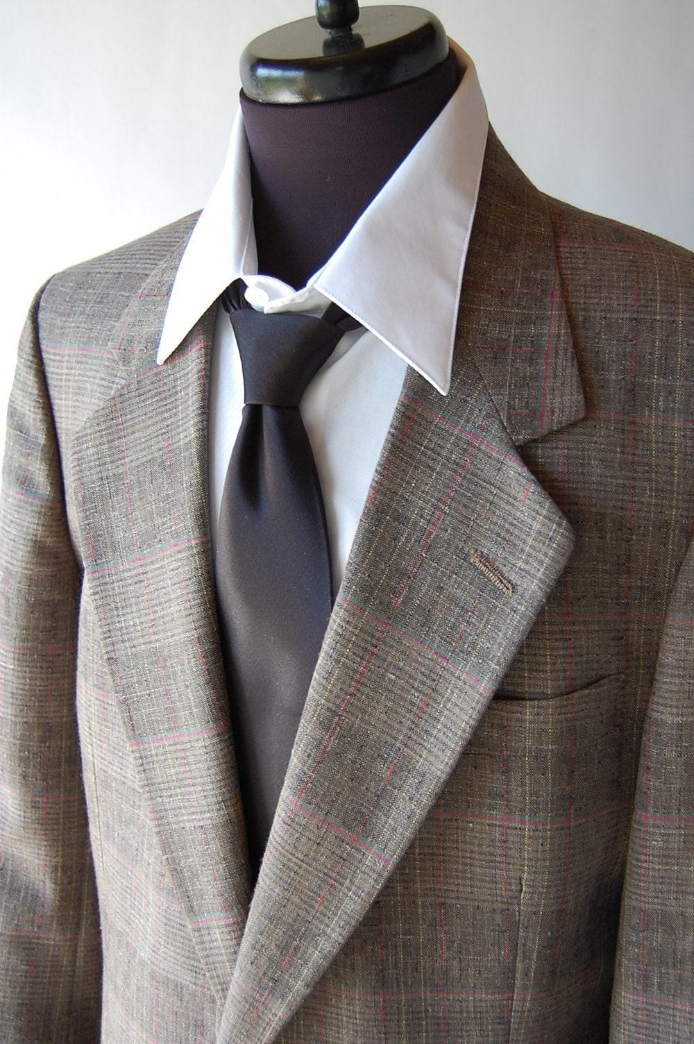 Pierre Cardin Vintage Mens Plaid Sport Coat . 44 45