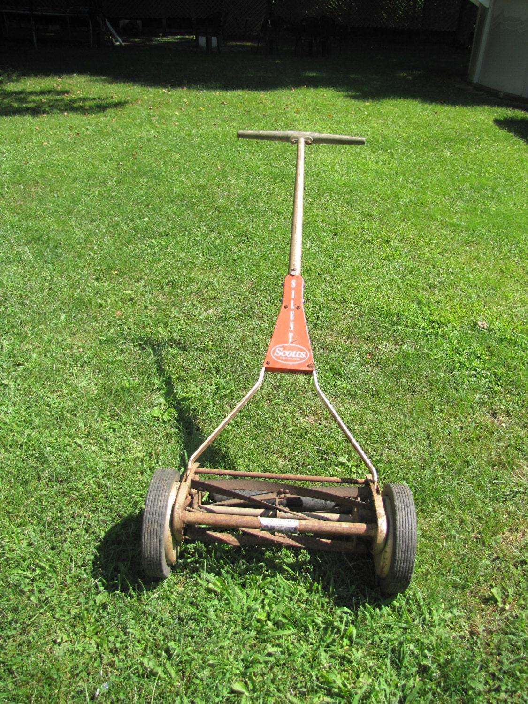Antique Reel Scotts Lawnmower By Sc1232jp On Etsy