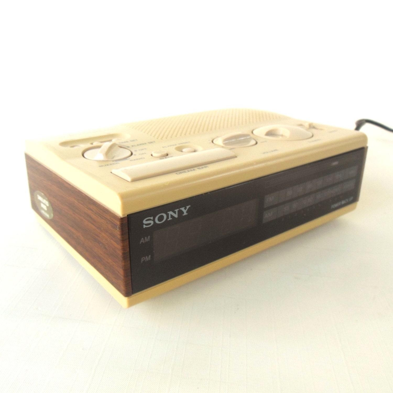 Sony Dream Machine Alarm Clock Radio ICF-C4W by ...