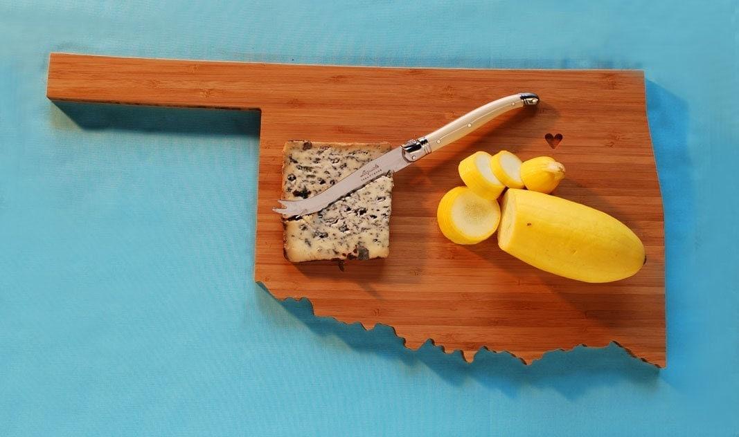 AHeirloom's Oklahoma Plyboo Cutting Board