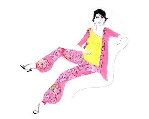 Maternity Picasso, via Etsy: CarolDesign