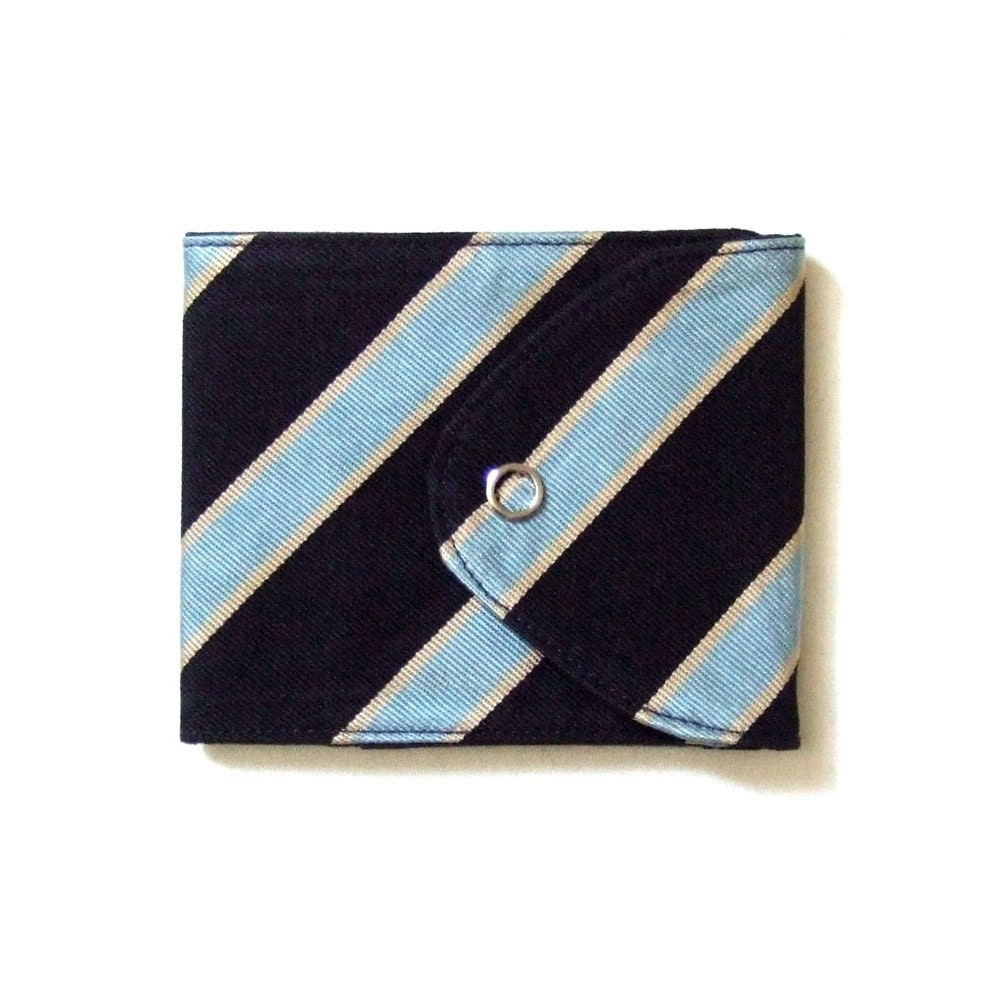 Etsy :: prixprix :: Recycled Necktie Snap Wallet