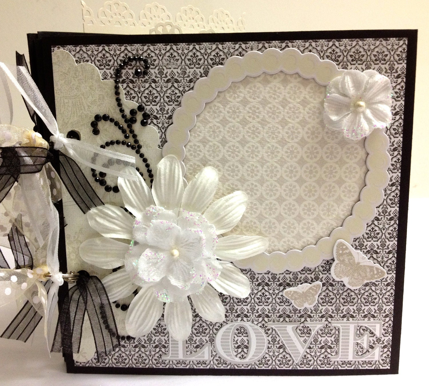 Diy Wedding Album Ideas: Premade Wedding Scrapbook Mini Album 6x6 Wedding By