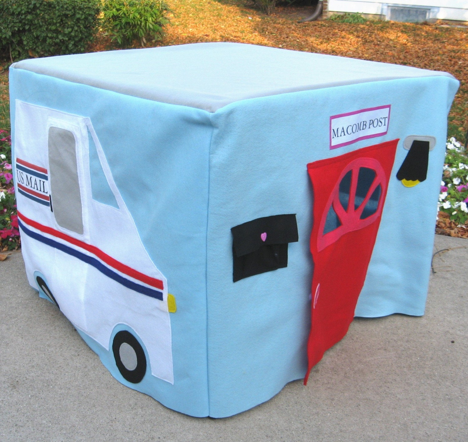 AFTER CHRISTMAS DELIVERY ONLY, Post Office Card Table Playhouse, Custom Order