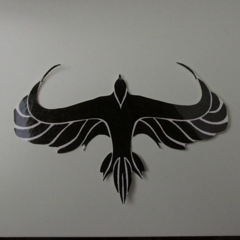 Divergent birds wallpaper