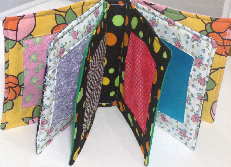 Children's soft Fabric Texture Feel Me Book