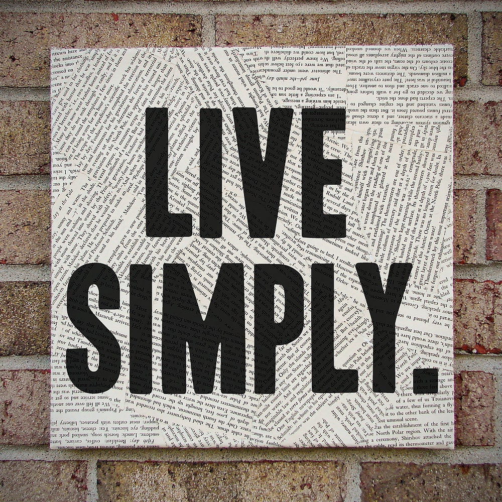 canvas wall art live simply bold statement wall by ForLive Simply Wall Art