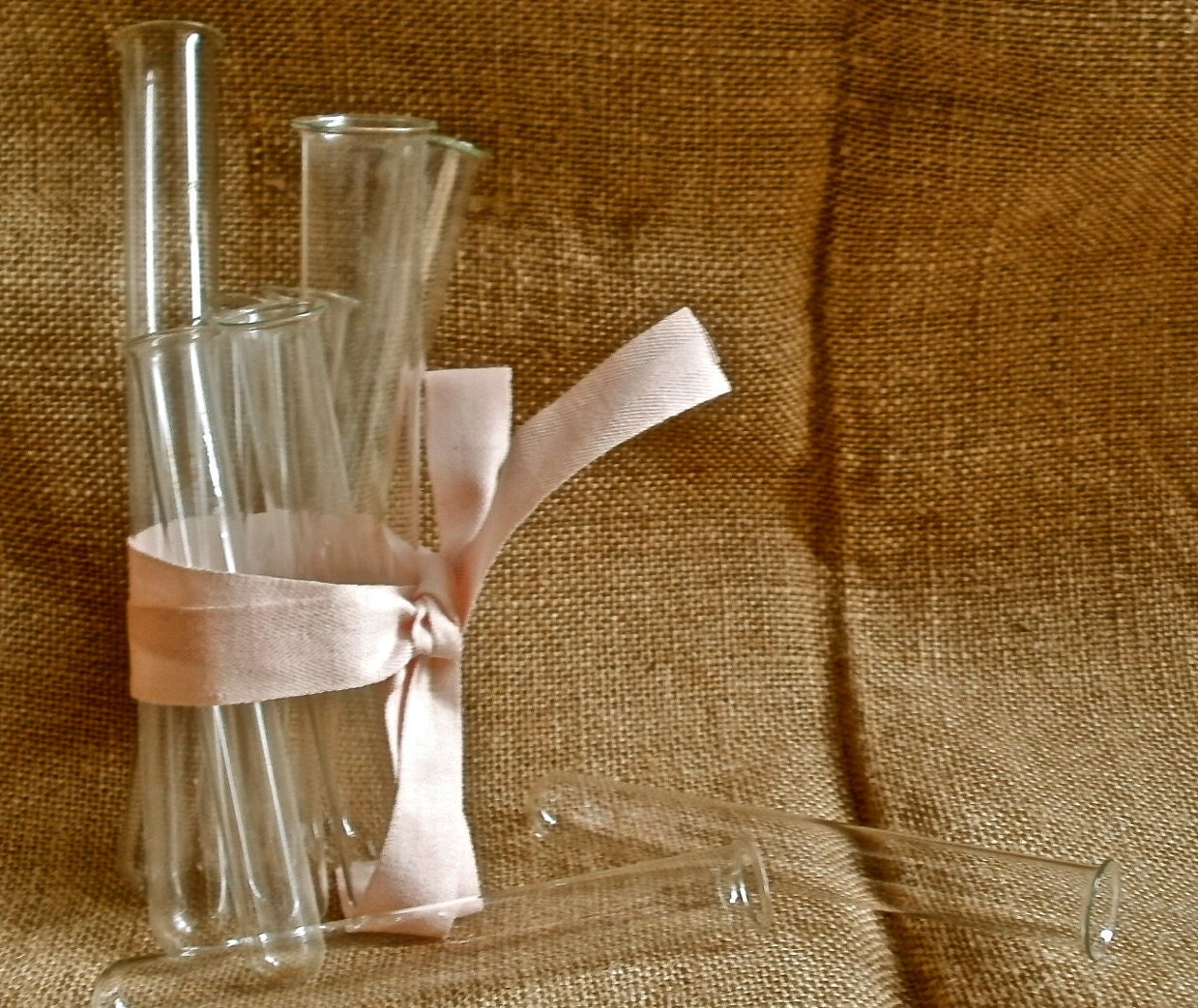 Test Tube Glass Vessels Great For Quirky Home Decor By