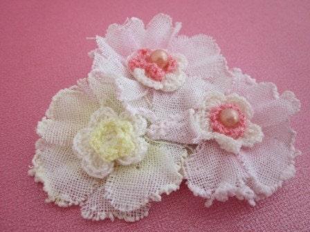 Valentine Floral Pin, Brooch,