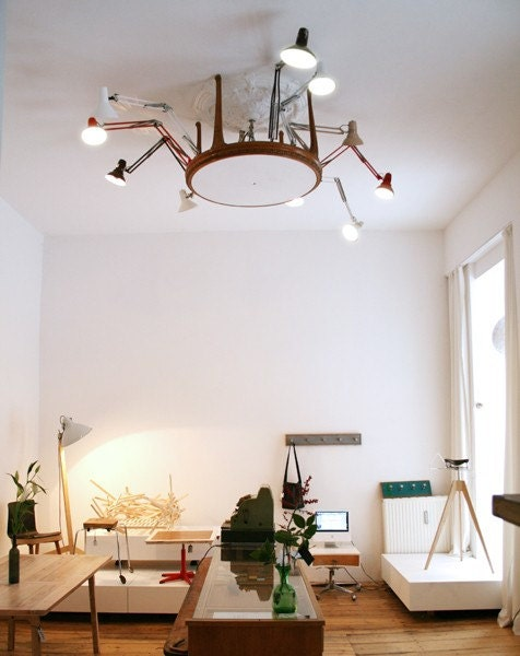 Luminous XVI - chandalier - lighting object - lamp