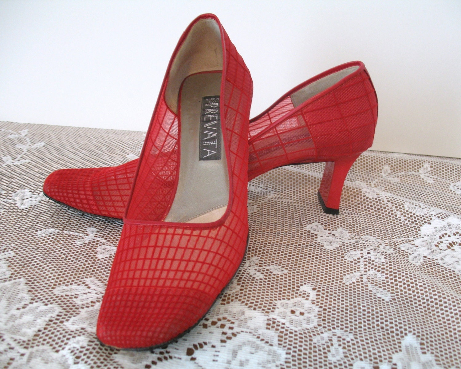 prevata high heel shoes italian designer by