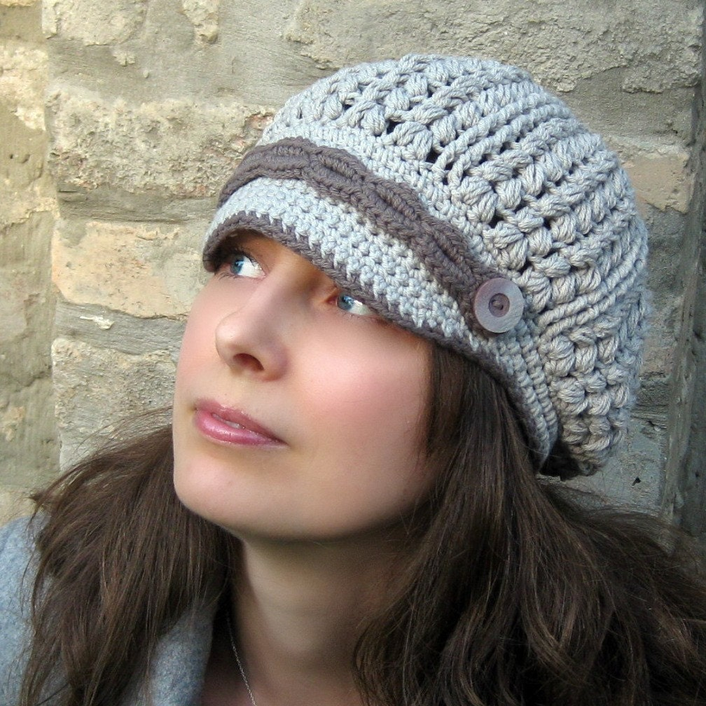 Items Similar To Sakina Newsboy Hat Crochet Pattern On Etsy