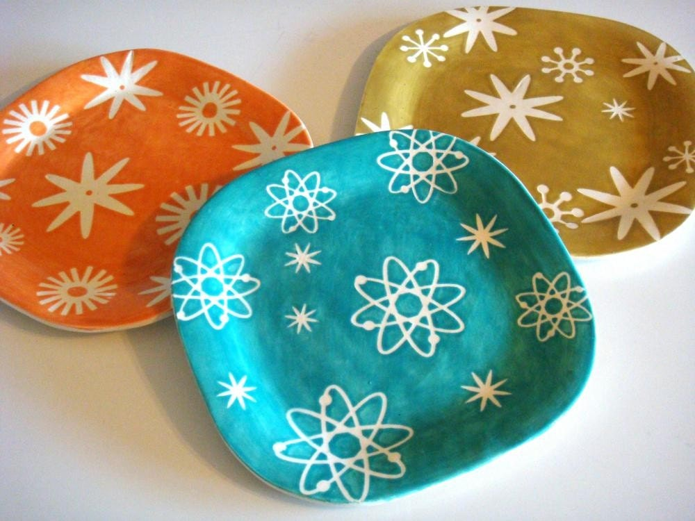 Atomic Plate, Blue