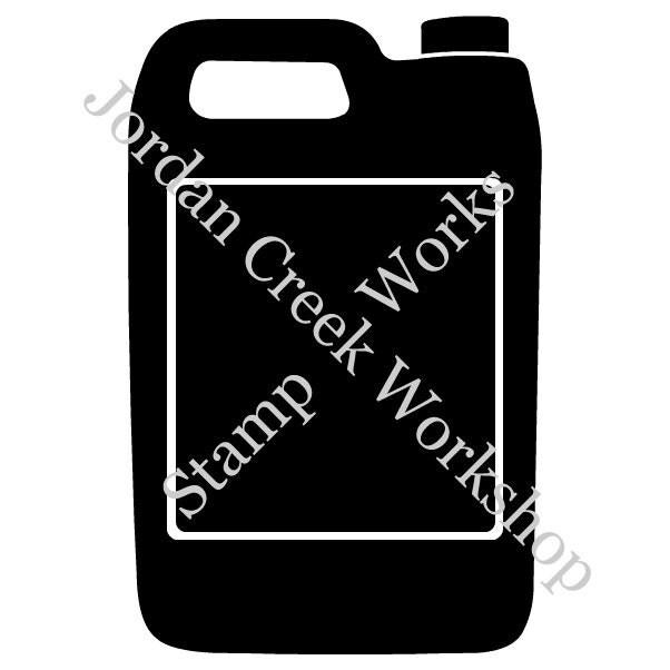 ... black automotive fluid anti-freeze gallon container jug clip art png
