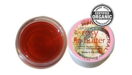 Rosy Lip Butter - lip tint lip stain