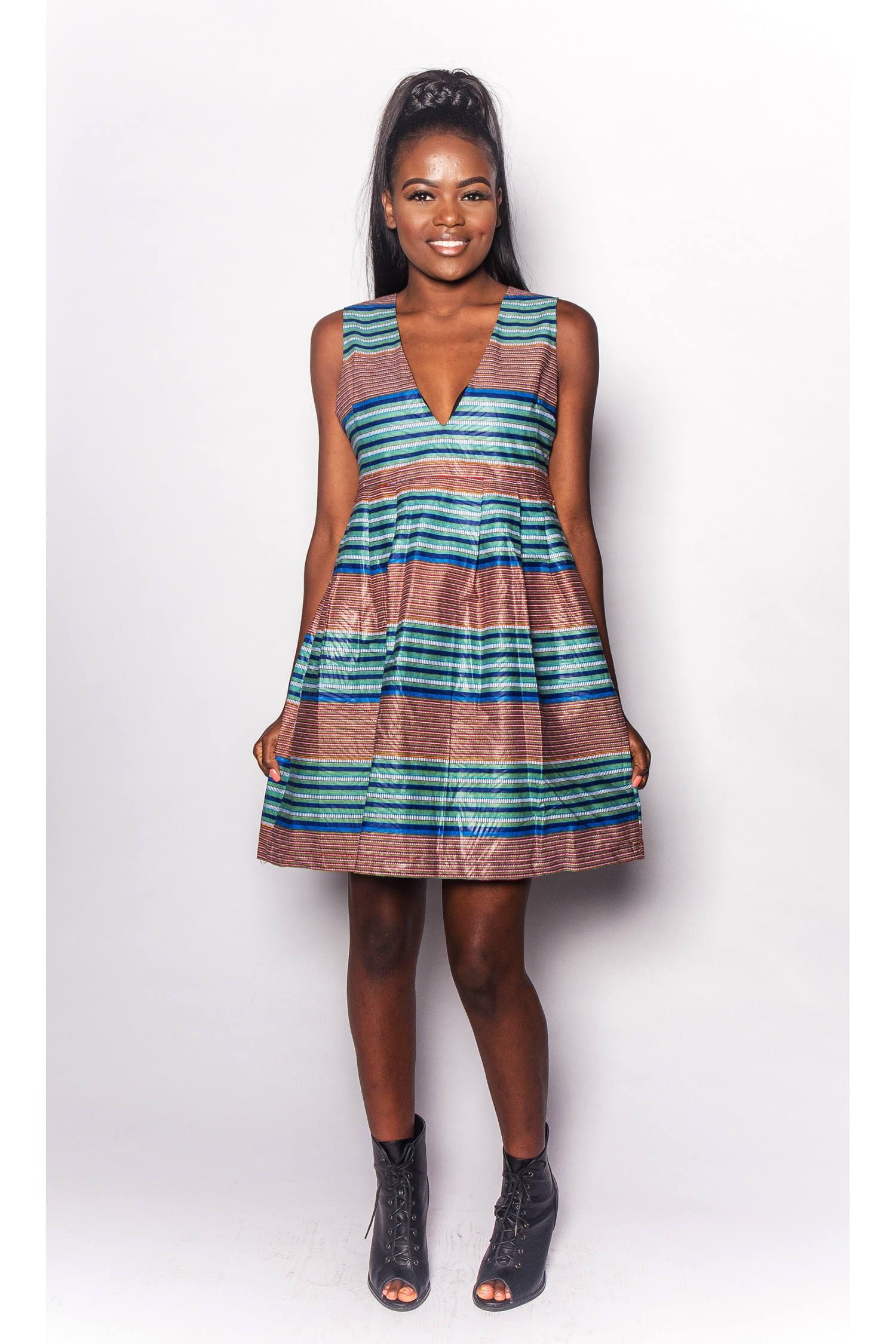 Jarrol JEKKAH  African ALine Dress  Womens