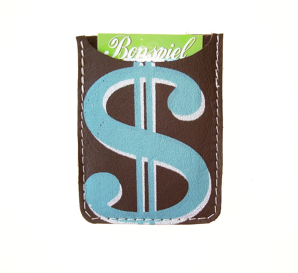 Debit card  sleeve--Dollar