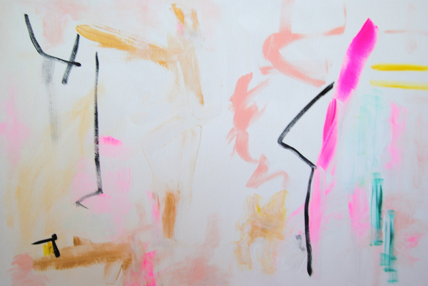 Georgina, original abstract painting