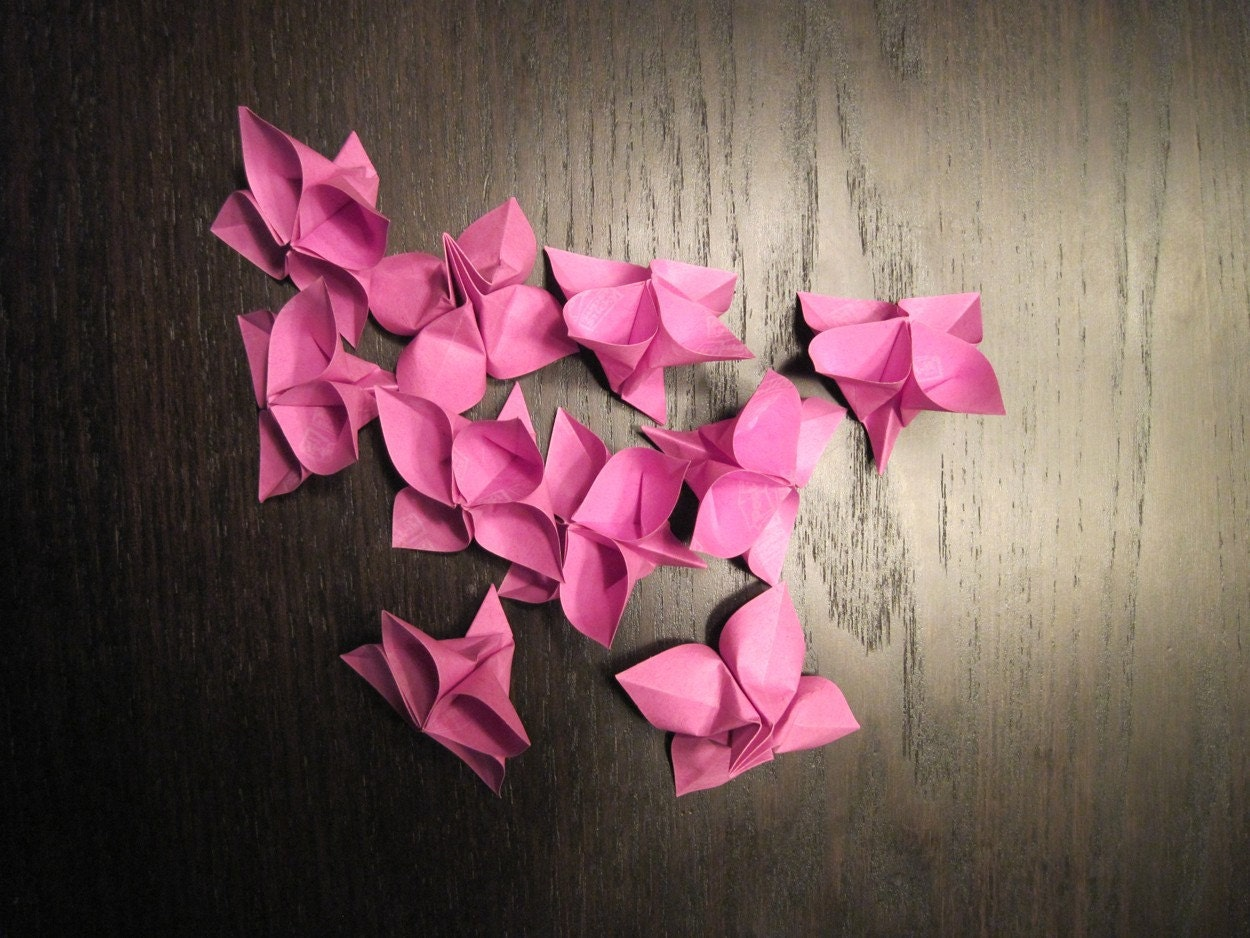 FLOWER ORIGAMI ORIGAMI