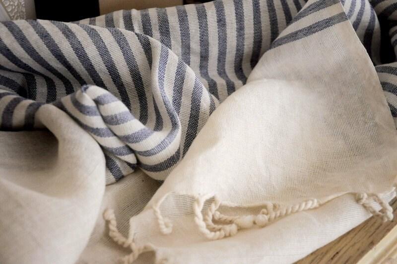 Turkish Bath-Hamam Linen Towel-Peshtemal