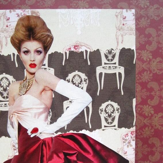 Drama Queen Blank Card 5x7