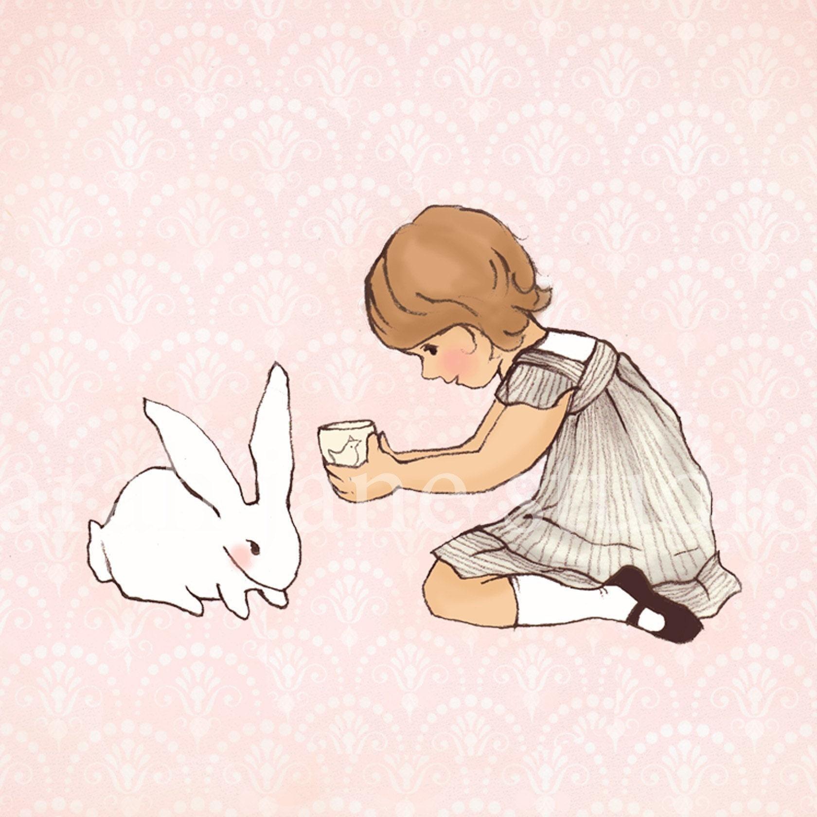 Bunny likes  tea