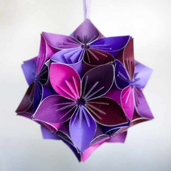 Paper Flower Ball - Il Fullxfull