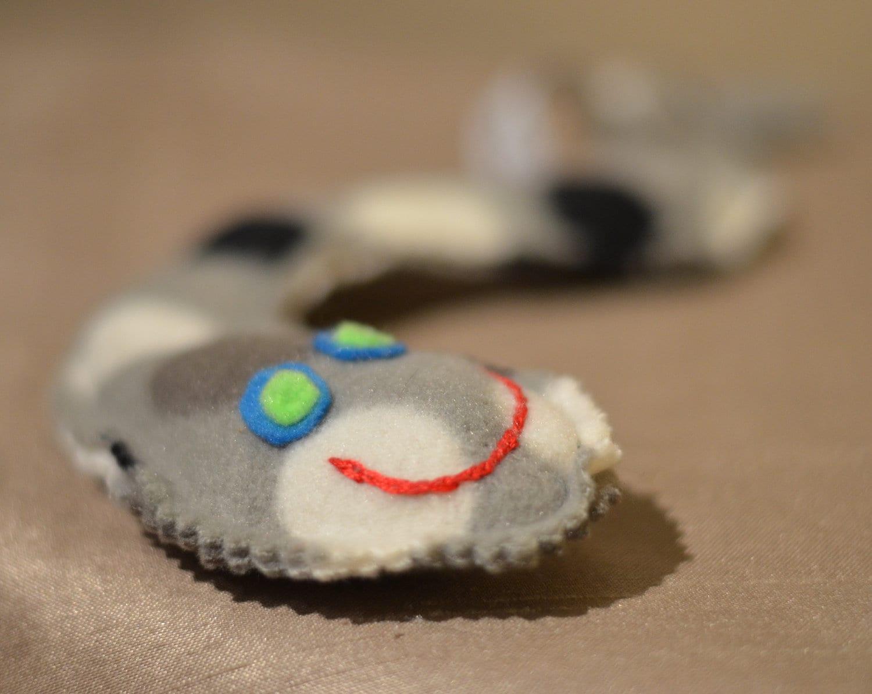 мягкая игрушка-змейка