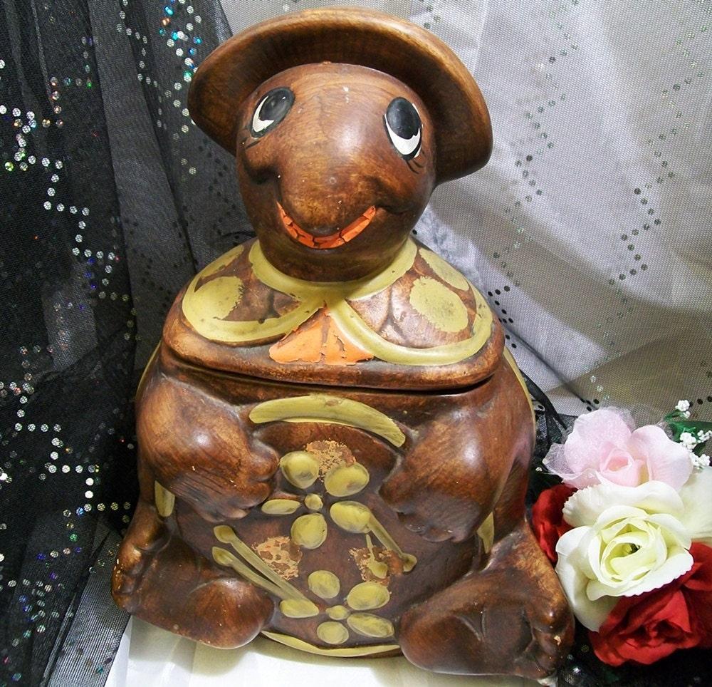 1960s California Originals Turtle Cookie jar