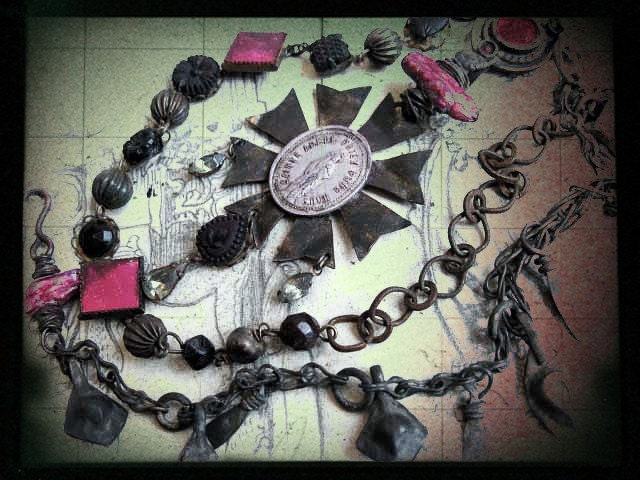 The Hesychast. Victorian Tribal Rosary.