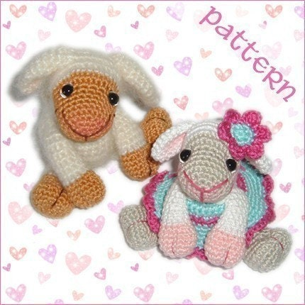 PDF Pattern - Little Sheep