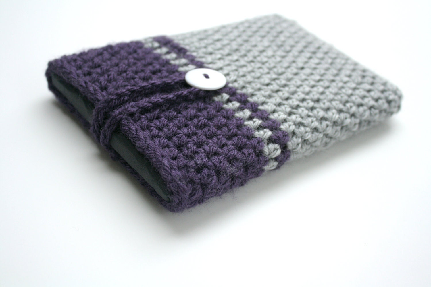 Crochet Kindle Nook Cozy PATTERN by LeMarignyKnits on Etsy