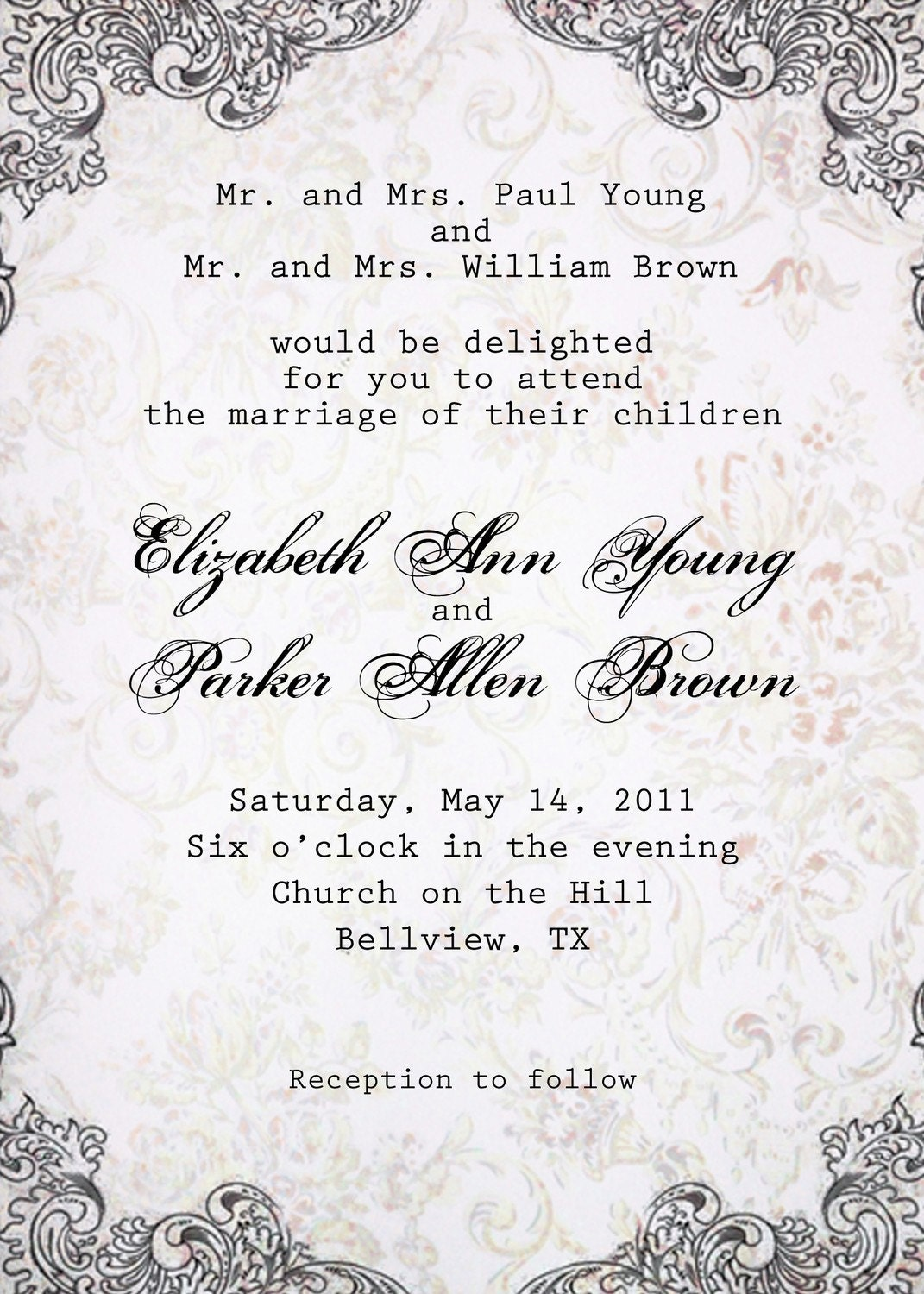 bridal shower invite wording for money