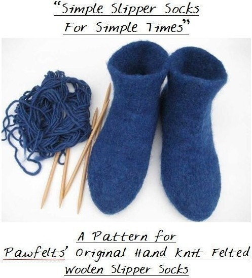 Free Knitting Pattern: Garter/Rib Slippers