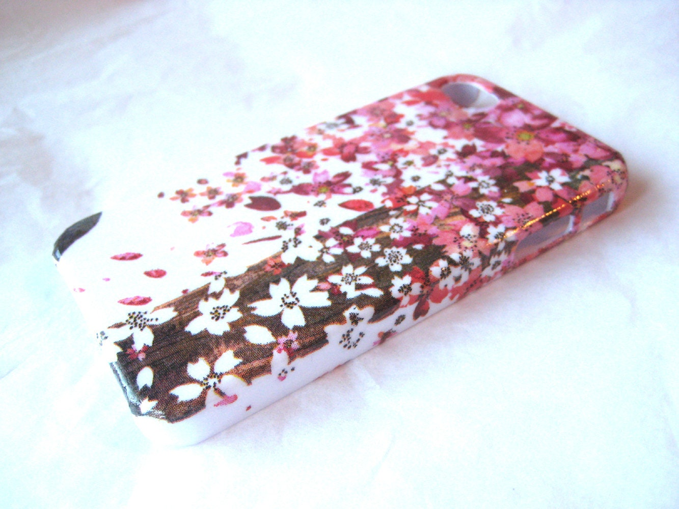 Cherry Blossom iPhone 4 4S or iPhone 5 Case iPhone Back Cover - vassap