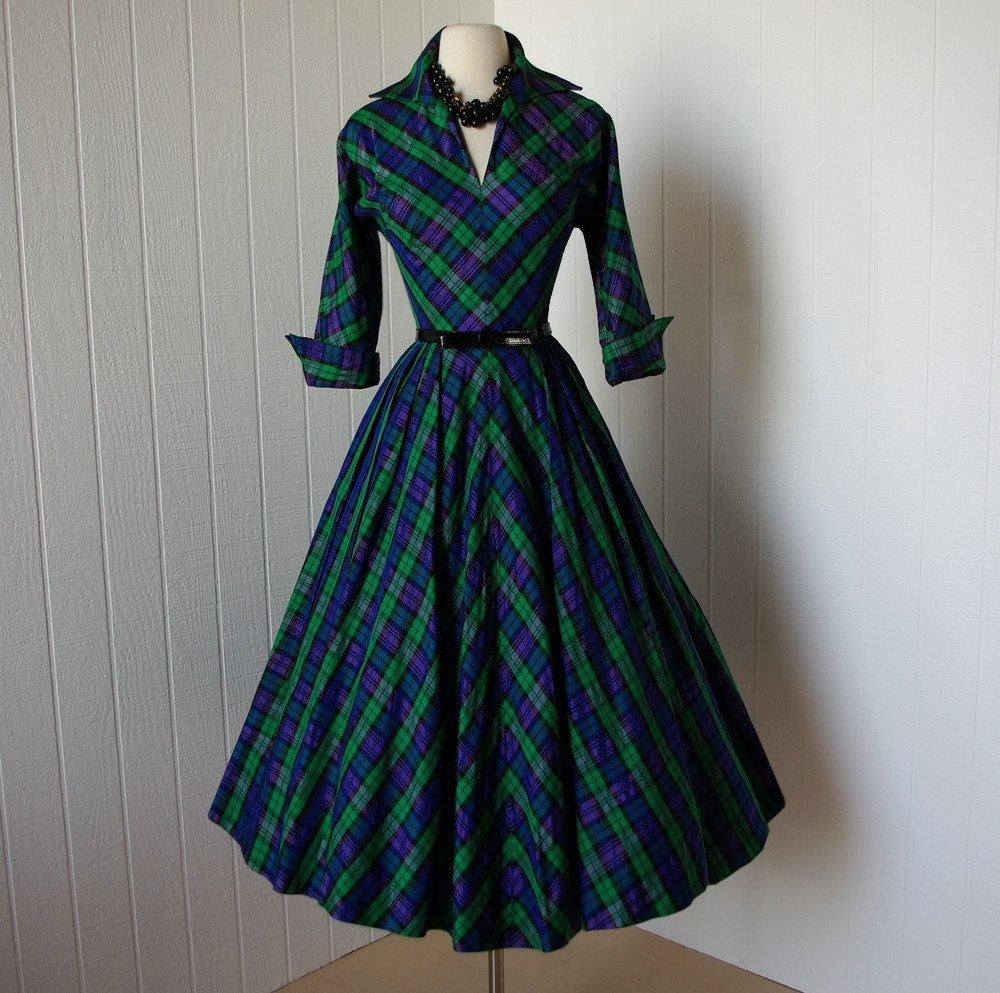 Fantastic MUXXN Women39s 1950s Retro Vintage Cap Sleeve Party Swing Dress  Women