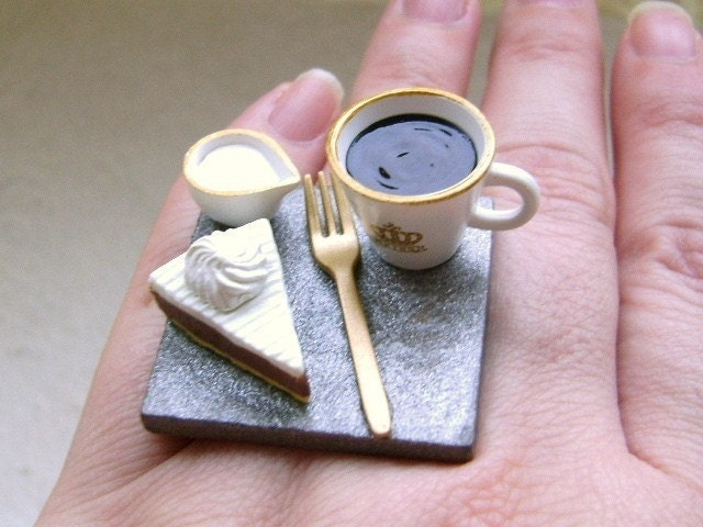 Coffee And Cake Ring