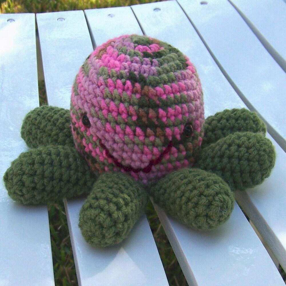 Crochet Church Purse Doll Pattern : Chloe Mini Octopus Amigurumi by AllAboutKendra on Etsy