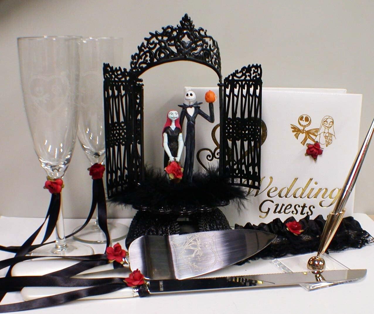 Nightmare Before Christmas Wedding Rings synrgyus