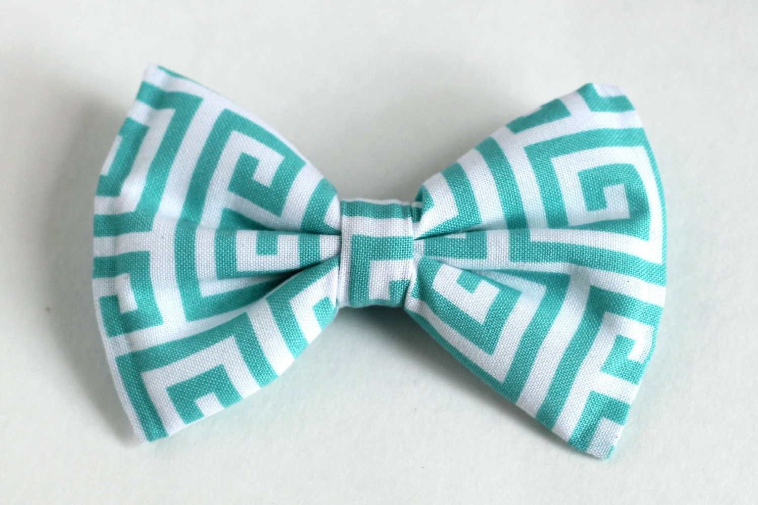 Boys Bow Tie Teal Mint Turquoise Blue Greek Key, Newborn, Baby, Child, Little Boy, Great for Special Occasion Wedding or Photo Prop - lollyludesigns