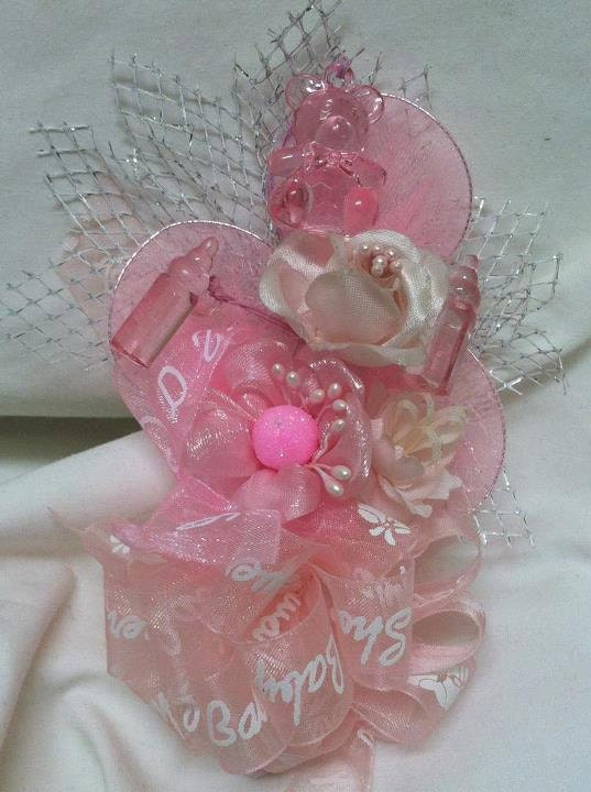 baby shower mom to be baby girl corsage by onlinebabyshower