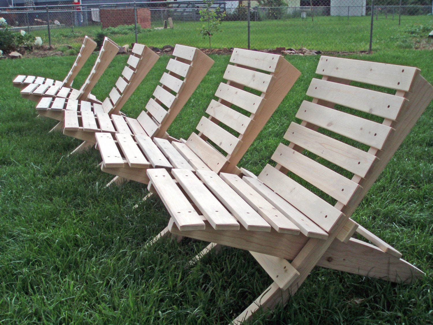 Handmade Folding Adirondack Chair by TheSawDust pany on Etsy